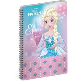Spiral notebook Frozen – Elsa, A4, lined