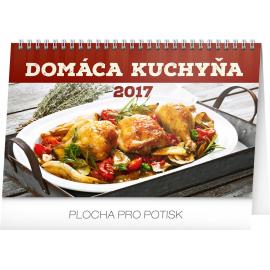 Stolní kalendář Domáca kuchyňa SK 2017, 23,1 x 14,5 cm