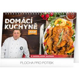 Stolní kalendář Domácí kuchyně 2018, 23,1 x 14,5 cm