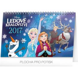 Stolní kalendář Frozen – Ledové království 2017, 23,1 x 14,5 cm