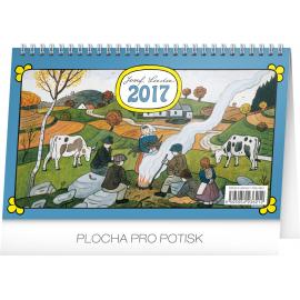 Stolní kalendář Josef Lada – Podzim 2017, 23,1 x 14,5 cm