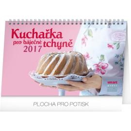 Stolní kalendář Kuchařka pro báječné tchyně 2017, 23,1 x 14,5 cm