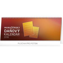 Stolní kalendář Manažérsky daňový SK 2018, 33 x 12,5 cm