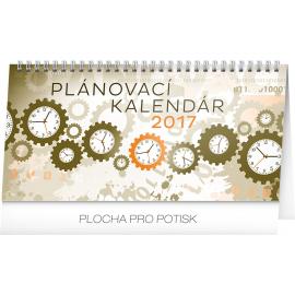 Stolní kalendář Plánovací SK 2017, 25 x 12,5 cm