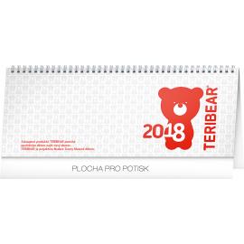 Stolní kalendář Teribear 2018, 30 × 12,5 cm