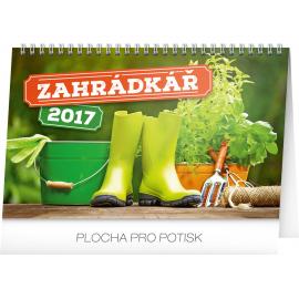 Stolní kalendář Zahrádkář 2017, 23,1 x 14,5 cm