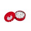 Teribear, mentolové bonbony v kovové krabičce