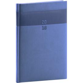 Weekly diary Aprint 2018, modrý, 15 x 21 cm, A5