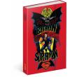 Týdenní diář Batman v Superman – Power 2017, 10,5 x 15,8 cm