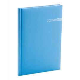 Týdenní diář Capys 2017, světle modrý, 15 x 21 cm, A5