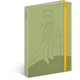 Týdenní diář Malý princ (Le Petit Prince) – Green 2018, 10,5 x 15,8 cm
