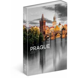 Týdenní diář Praha 2017, 10,5 x 15,8 cm