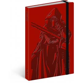 Týdenní diář Star Wars – Kylo Ren 2018, 10,5 x 15,8 cm