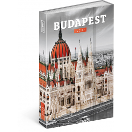 Weekly magnetic diary Budapest 2018, 10,5 x 15,8 cm
