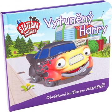 Board book - Vytúněný Harry