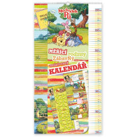 W. Disney Winnie the Pooh - Height Measurement Calendar, 33 x 64 cm
