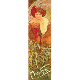 Bookmark Alfons Mucha – Emerald