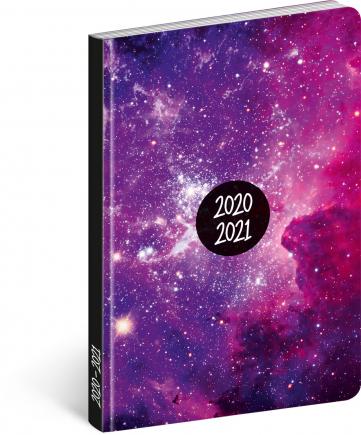 18měsíční diář Petito – Galaxy 2020/2021, 11 × 17 cm