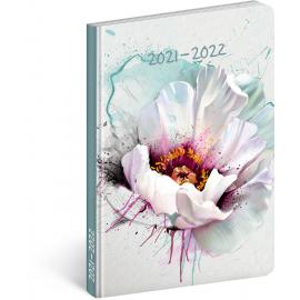18month Petito diary Blossom 2021/2022, 11 × 17 cm