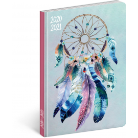 18month Petito diary Dream Catcher 2020/2021, 11 × 17 cm