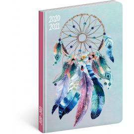 18měsíční diář Petito – Lapač snů 2020/2021, 11 × 17 cm