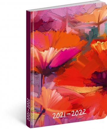 18měsíční diář Petito – Malba 2021/2022, 11 × 17 cm