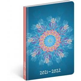 18month Petito diary Mandala 2021/2022, 11 × 17 cm