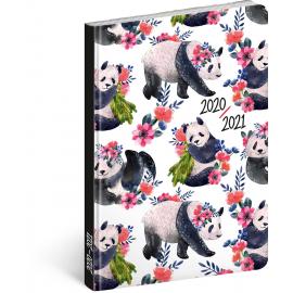 18month Petito diary Pandas 2020/2021, 11 × 17 cm