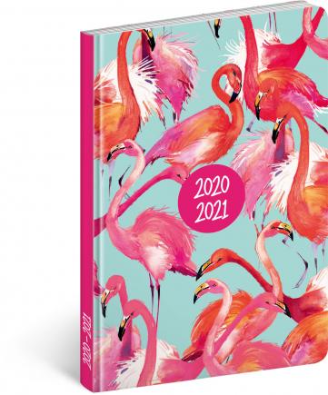 18měsíční diář Petito – Plameňáci 2020/2021, 11 × 17 cm