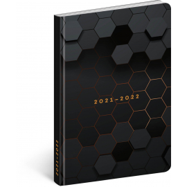 18měsíční diář Petito – Polygon 2021/2022, 11 × 17 cm