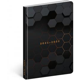 18month Petito diary Polygon 2021/2022, 11 × 17 cm