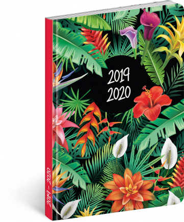 18month Petito diary Tropical 2019/2020, 11 × 17 cm