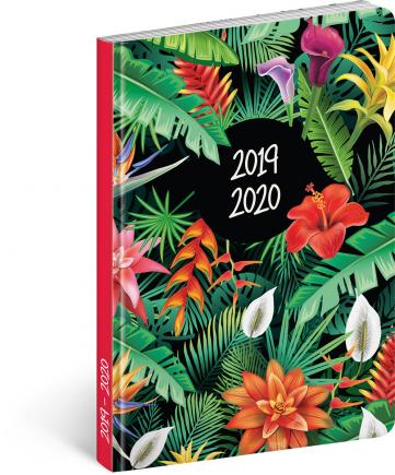 18měsíční diář Petito – Tropic 2019/2020, 11 × 17 cm