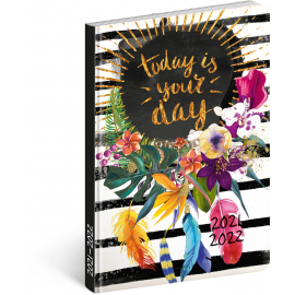 18month Petito diary Your Day 2021/2022, 11 × 17 cm
