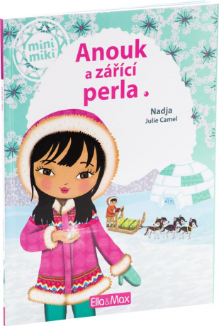 Anouk and the shining pearl - book