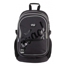 School backpack Logo Black
