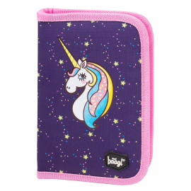School pencil case – double-flap Unicorn