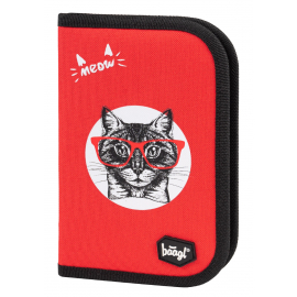School pencil case Cat