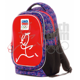 Large backpack Czech team – Zátopek, red