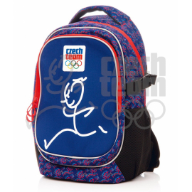 Large backpack Czech team – Zátopek, blue