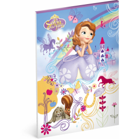 Notepad Sofia the First, A4, unlined