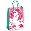 Dárková taška Alfons Mucha – Ruby, Fresh Collection, velká