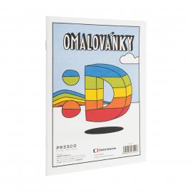 Déčko - omalovánky A5