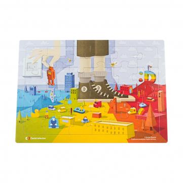 Déčko - puzzle Guliver, 24 dílků