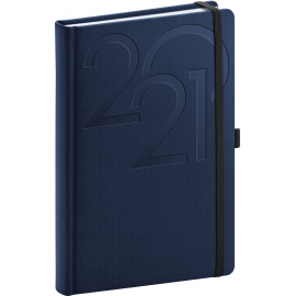 Daily diary Ajax blue 2021, 15 × 21 cm