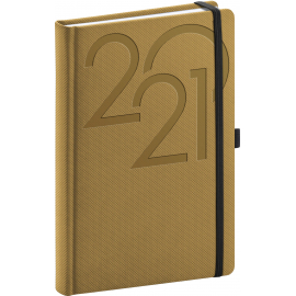 Daily diary Ajax gold 2021, 15 × 21 cm