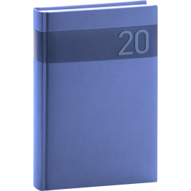 Daily diary Aprint blue 2020, 15 × 21 cm