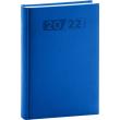 Denní diář Aprint 2022, modrý, 15 × 21 cm