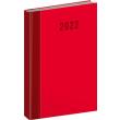 Denní diář Cambio Classic 2022, červený, 15 × 21 cm