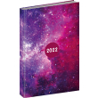 Denní diář Cambio Fun 2022, Galaxy, 15 × 21 cm